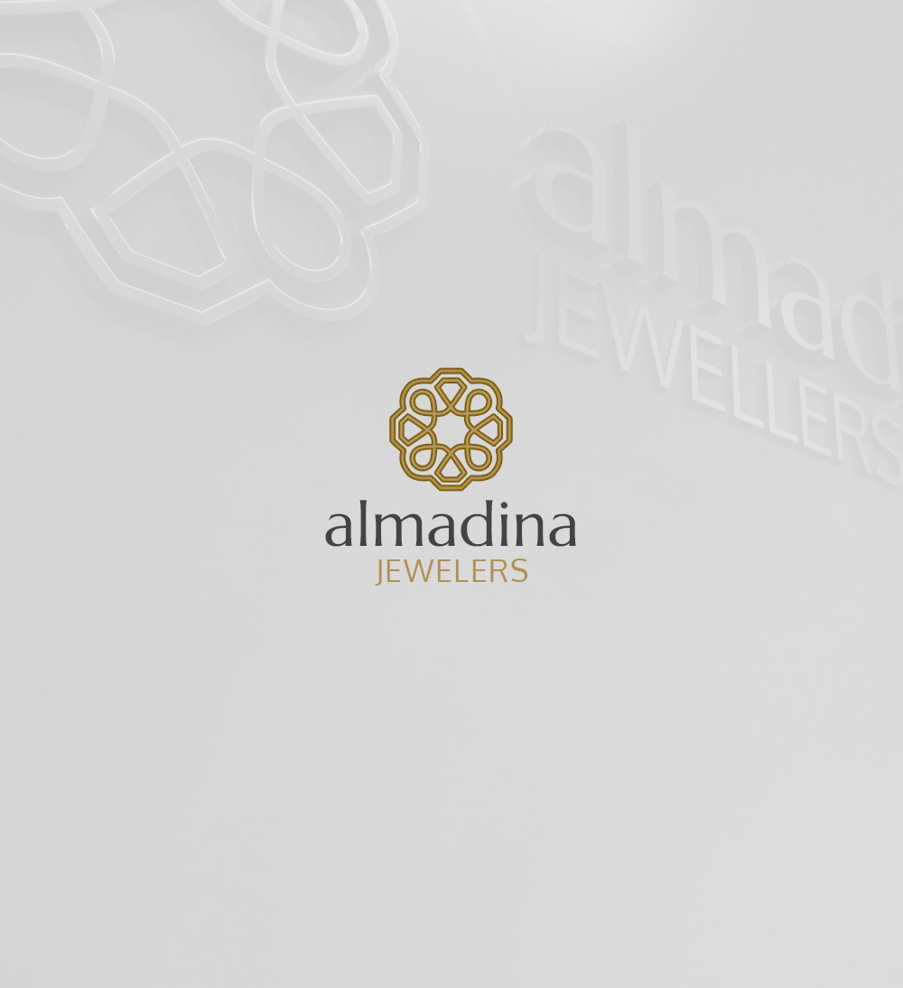 Al-Madina Jewelers - Logo and Branding
