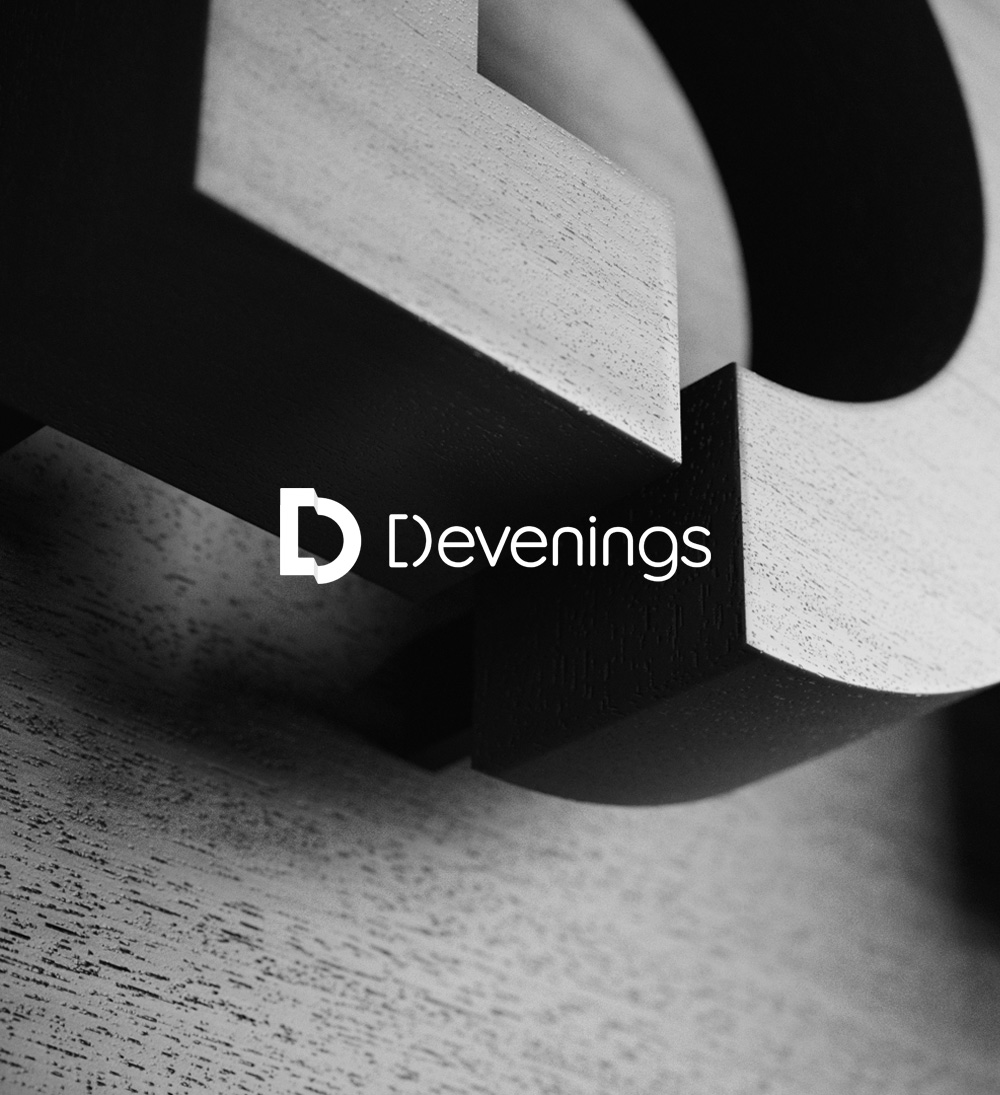 Devenings - Entwino Website Portfolio Cover Design Static