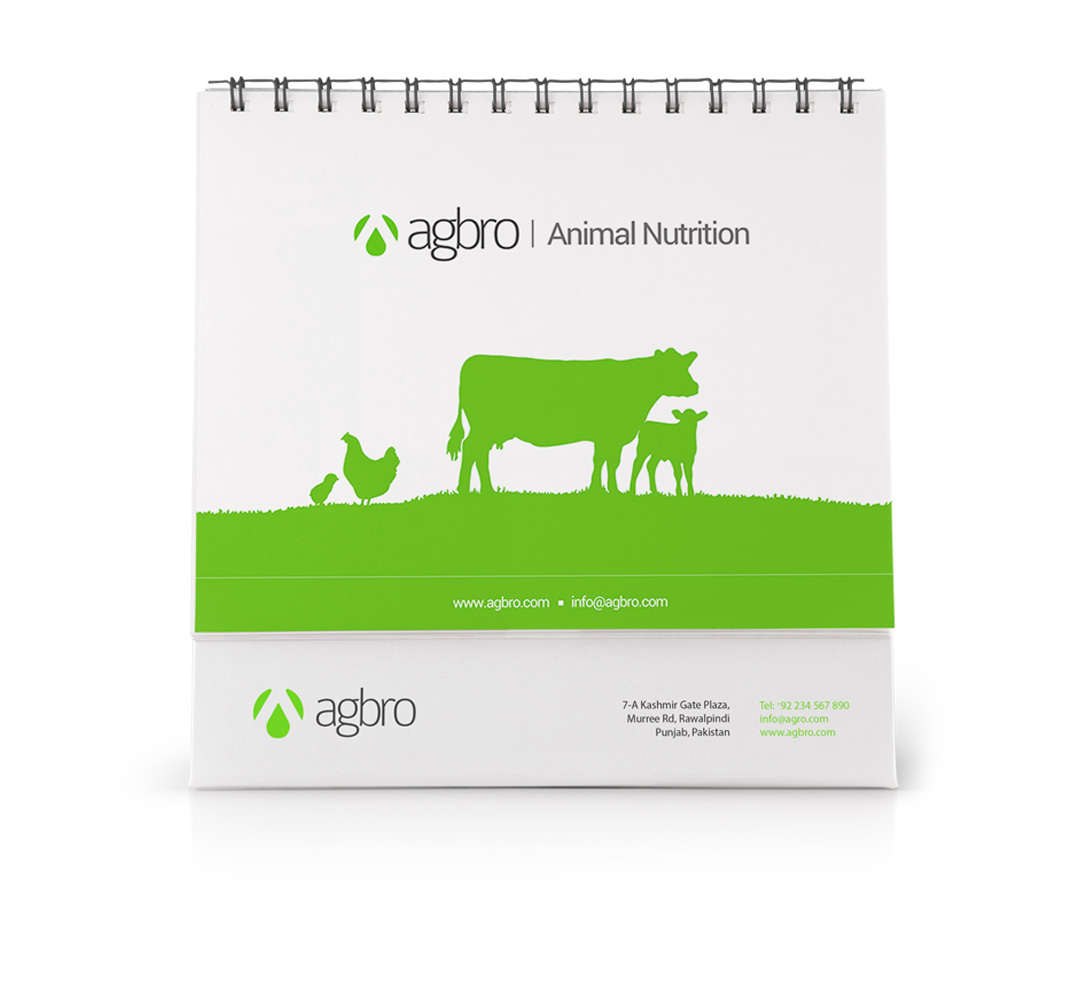 Agbro Group - Branding - Calendar