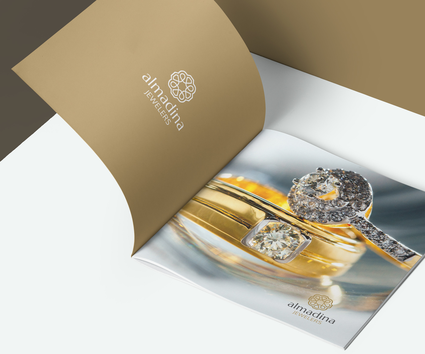 Al-Madina Jewelers - Print Catalog Design