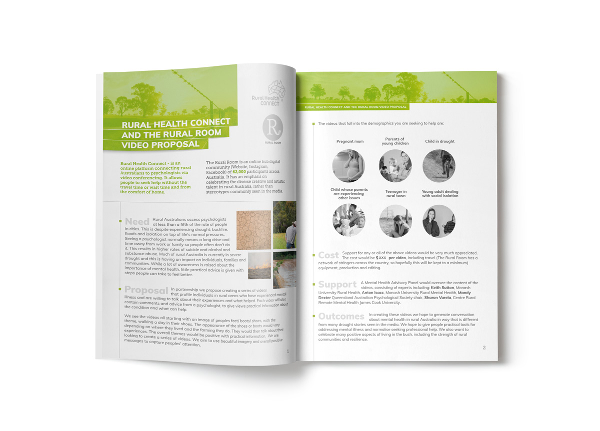Rural Health Connect - Print Document Design 2