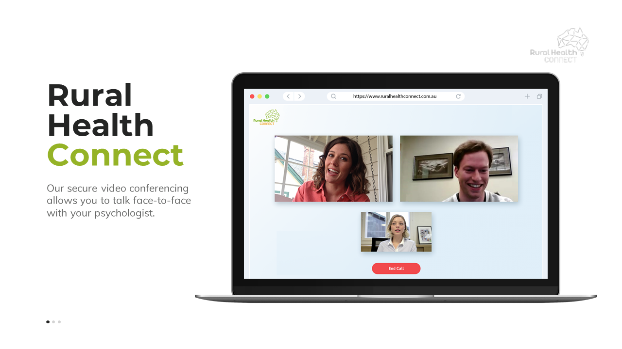 Rural Health Connect - Live Video Psychology Sessions