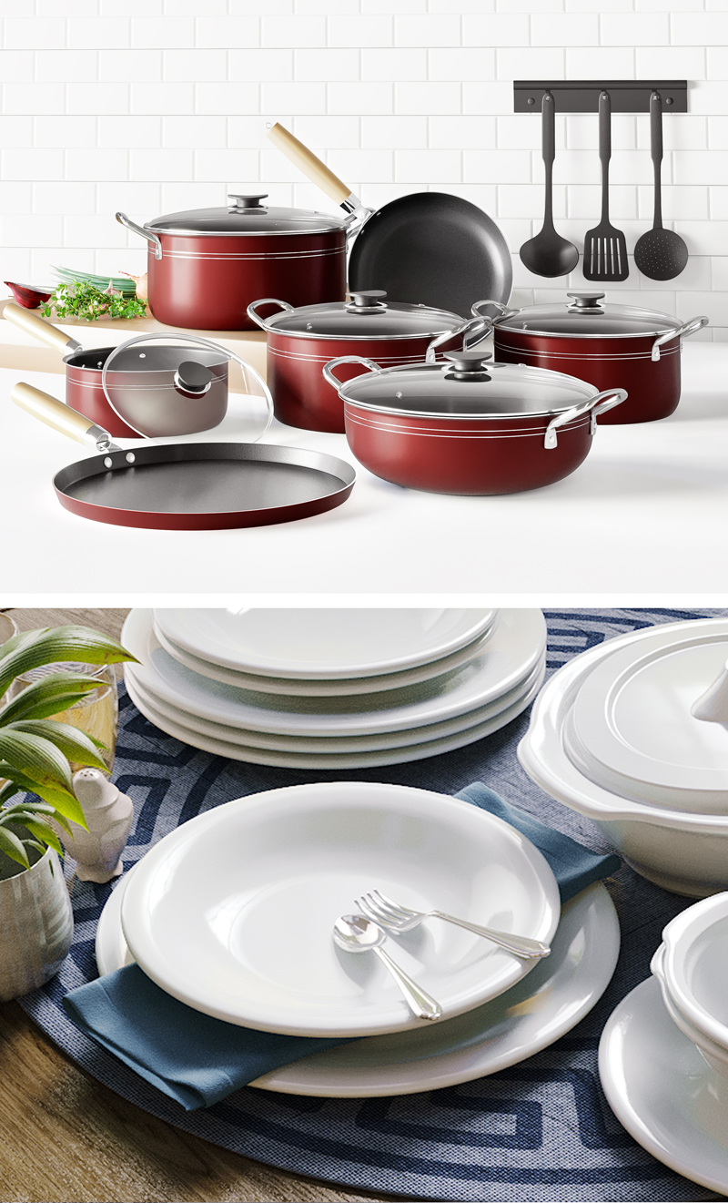 3D Rendering Service - Product Cookware Render