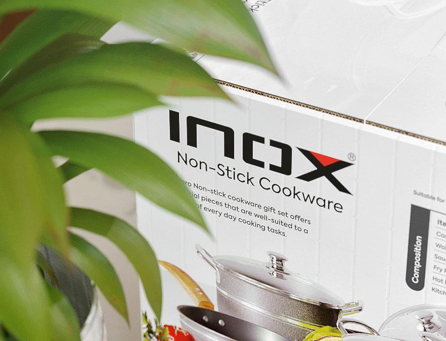 INOX - Cookware - Cover Design